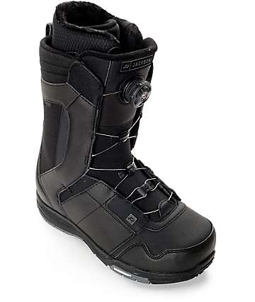 Ride Jackson Boa Black Snowboard Boots