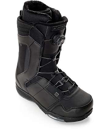 Ride Jackson Boa botas de snowboard en negro