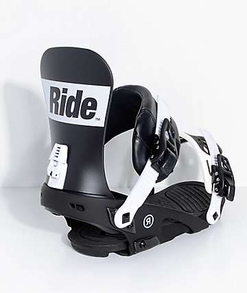 Ride Rodeo Black Snowboard Bindings