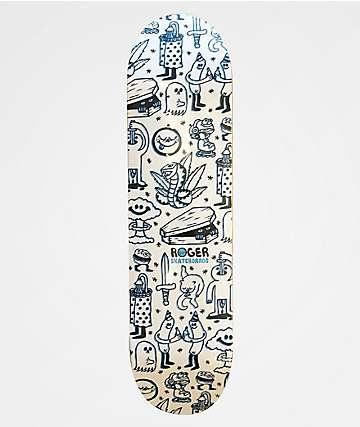 """Roger Doodle 8.25"""" Skateboard Deck"""