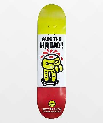"Roger Free The Hand 8.25"" Skateboard Deck"