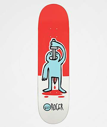 "Roger Skateboards Sword Swallower 8.25"" Skateboard Deck"