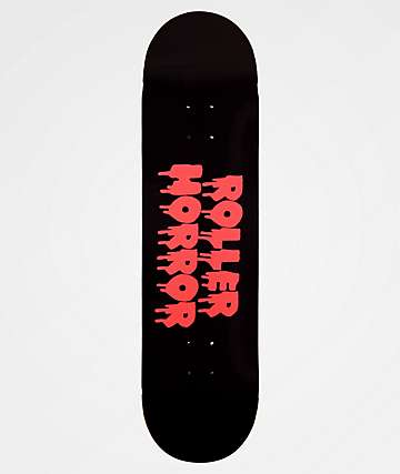 "Roller Horror Colors Logo 8.25"" Skateboard Deck"