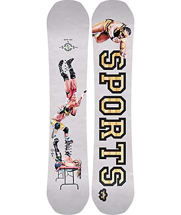 Rome Artifact Rocker Snowboard ancha de 155cm
