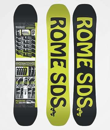 Rome Mechanic Snowboard 2020