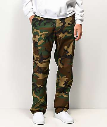 Rothco BDU Tactical Woodland Cargo Pants