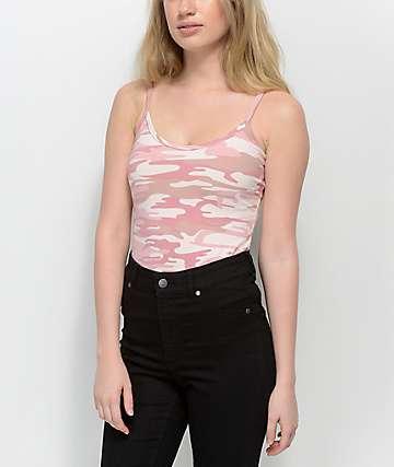 Rothco Baby Pink camiseta sin mangas de camuflaje rosa