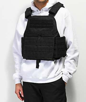 Rothco Black Plate Vest