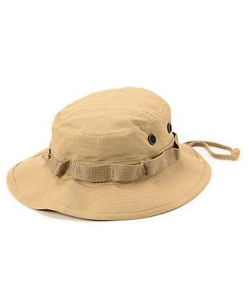 Rothco Boonie gorra negra bucket