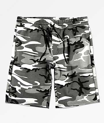 Rothco City Camo Sweat Shorts
