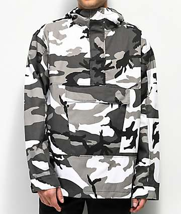 Rothco City Camo chaqueta anorak de camuflaje gris