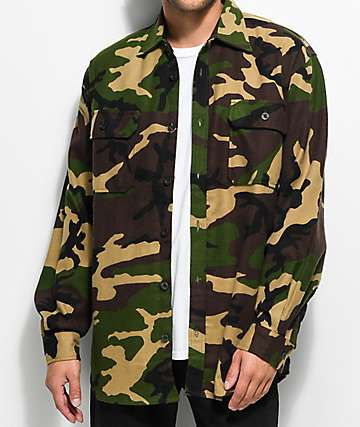 Rothco Extra Heavyweight Camo Flannel