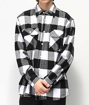 Rothco Heavy White Flannel Shirt