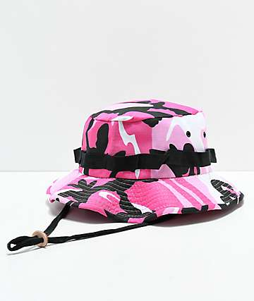 Rothco Jungle Pink Camo Bucket Hat