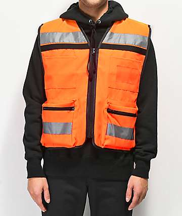 Rothco Orange Rescue Vest