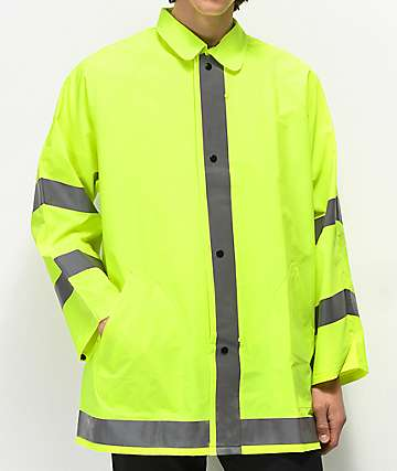 Rothco Safety Green Reflective Jacket