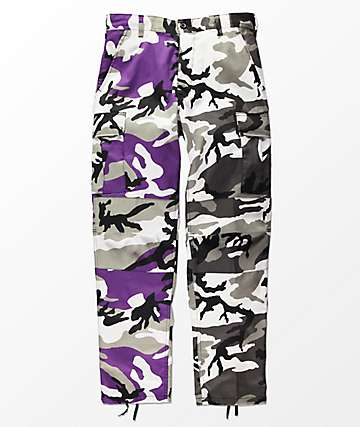 Rothco Split Violet & City Camo Cargo Pants