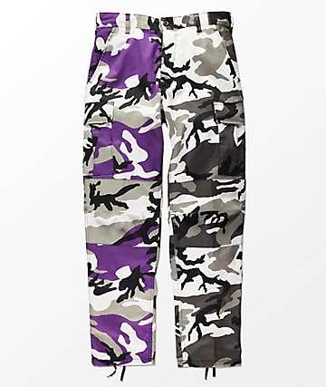 Rothco Split Violet & City Camo Cargo Pants