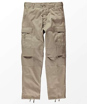 Rothco Tactical BDU Solid Khaki Cargo Pants