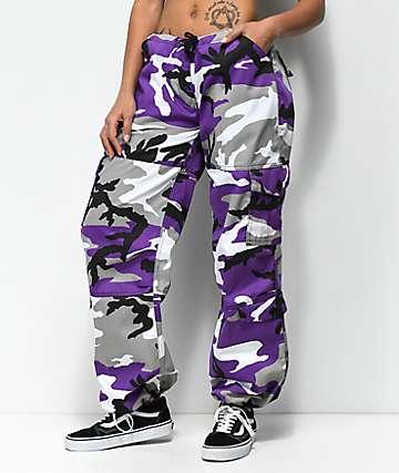 Rothco Ultra Violet Camo BDU Pants
