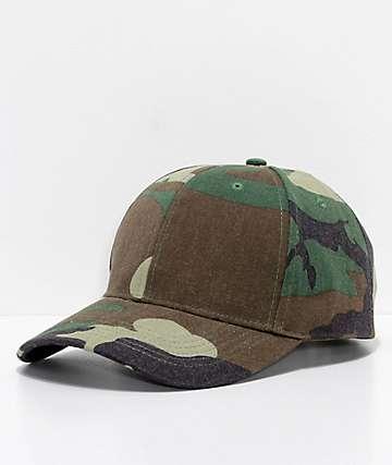 Rothco Woodland Camo Strapback Hat