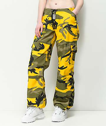 Rothco Yellow Camo BDU Pants 2cdc317ddd4