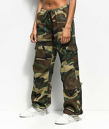 Rothco pantalones de camuflaje verde