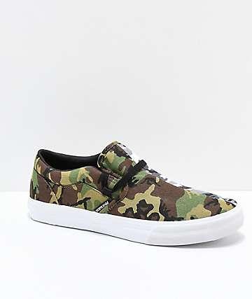 Rothco x Supra Cuba Can't See Me zapatos de skate de camuflaje