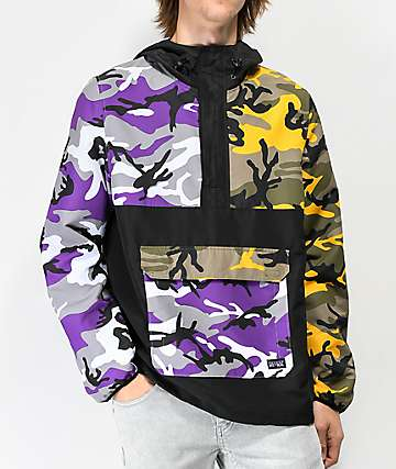 Rothco x Vitriol Cobra Camo Colorblocked Anorak Jacket