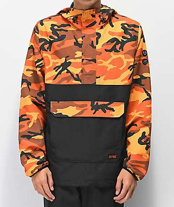 Rothco x Vitriol Cobra Orange Camo Anorak Jacket