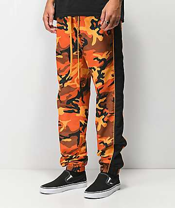 Rothco x Vitriol Jinx Orange Camo Jogger Pants 114452f2509