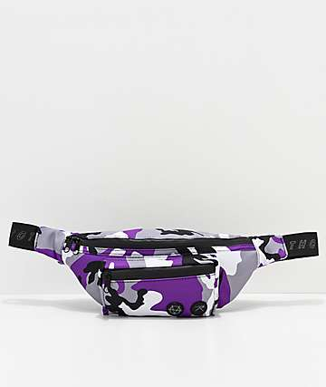 Rothco x Vitriol Purple Camo Fanny Pack