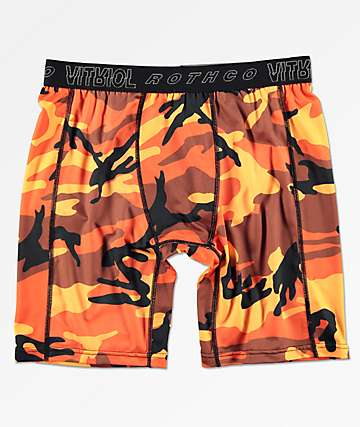 Rothco x Vitriol Quirk Orange Boxer Briefs