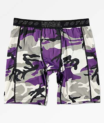 Rothco x Vitriol Quirk Purple Boxer Briefs