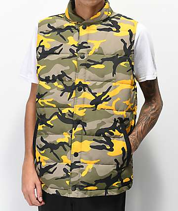 Rothco x Vitriol Stryker Yellow Camo Vest