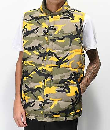 Rothco x Vitriol Stryker chaleco de camuflaje amarillo