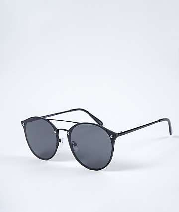 Rounds Black Sunglasses
