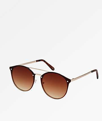 Rounds Brown Sunglasses