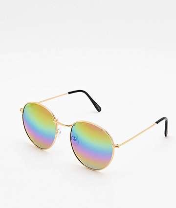 Rounds Rainbow Lens Sunglasses