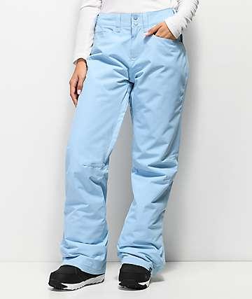 Roxy Backyard 10K pantalones de snowboard azul claro