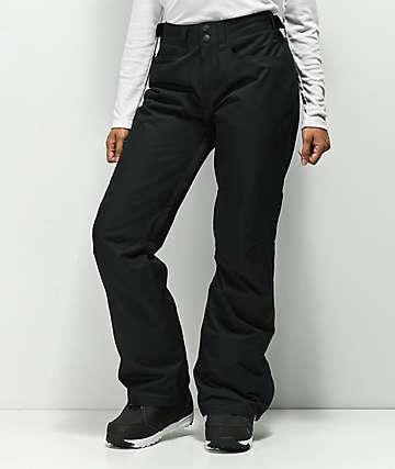 Roxy Backyard 10K pantalones de snowboard negros