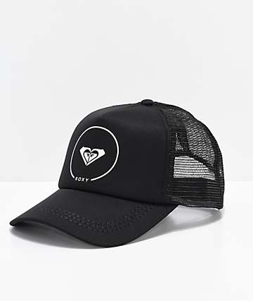 Roxy Black Trucker Hat