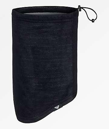 Roxy Cascade calentador de cuello negro
