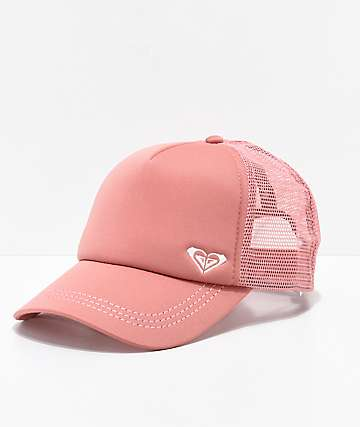 Roxy Finishline gorra de camionero rosa