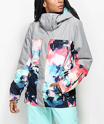 Roxy Jetty Block Cloud Nine 10K Snowboard Jacket