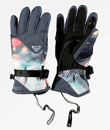 Roxy Jetty Coral Cloud Dusk guantes de snowboard