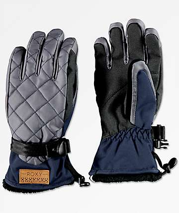 Roxy Merry Go Round guantes de snowboard azules