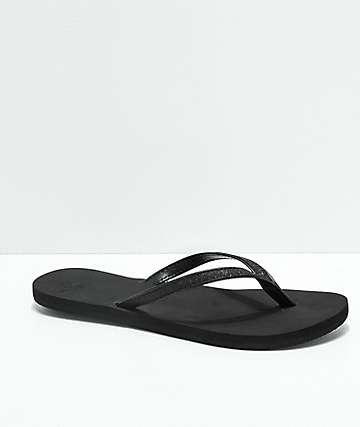 Roxy Napili Black Sandals