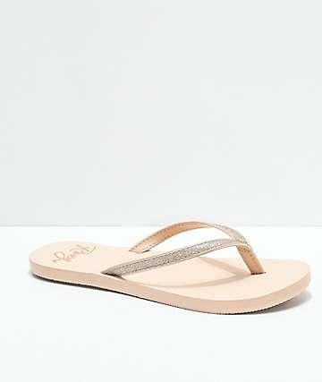 Roxy Napili sandalias marrones