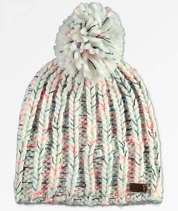 Roxy Nola Bright White Beanie